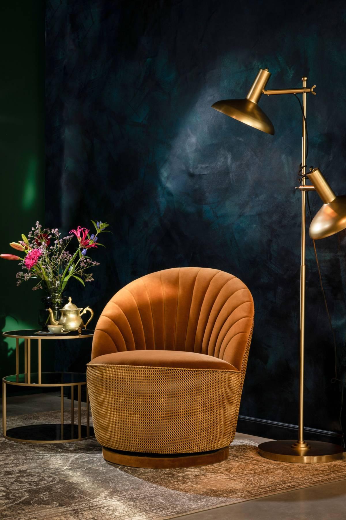 Moderne lounge stol hos BoShop.