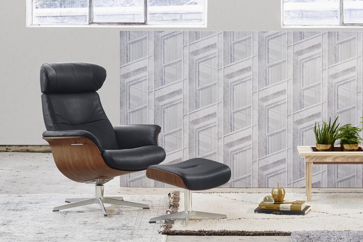 Ønsker du en elegant og arkitekttegnet lænestol, der har en god rygstøtte, er Timeout lige noget for dig.