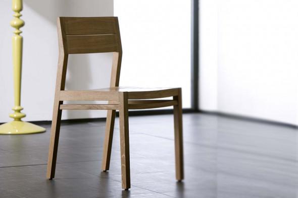 Billede af Ex 1 Eg spisebordsstol hos BoShop.
