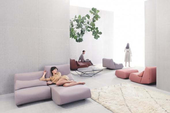 Billede af Absent stofsofa - Sofa i stof hos BoShop - Sofaer i Aarhus og Aalborg.