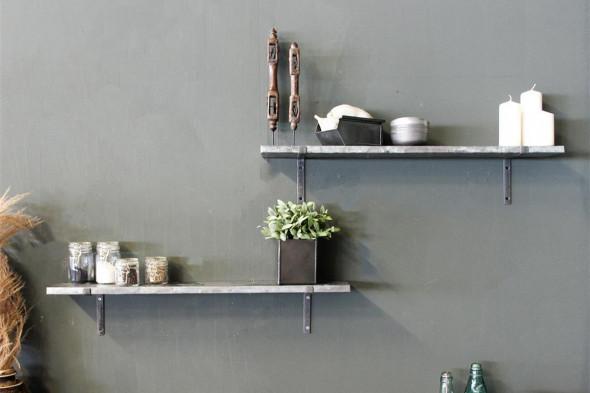 Billede af Zink væghylde hos BoShop