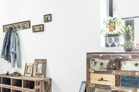 Billede af Scrapwood knagerække - (Knagerække serie) hos BoShop