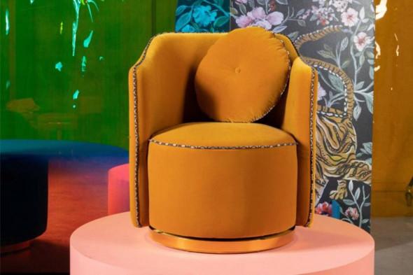 Billede af Sassy Granny lounge stol - Gul hos BoShop - Lænestole i Aarhus og Aalborg.