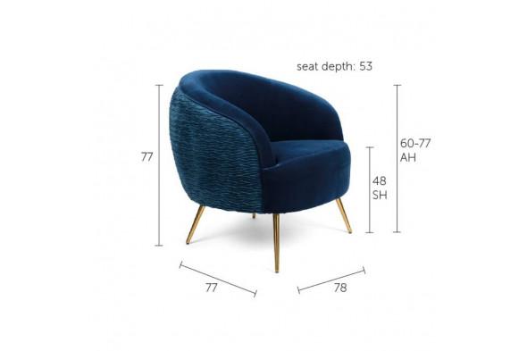 Billede af So Curvy lounge stol hos BoShop.