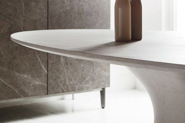 Billede af Podium beton spisebord hos BoShop - Spiseborde i Århus.