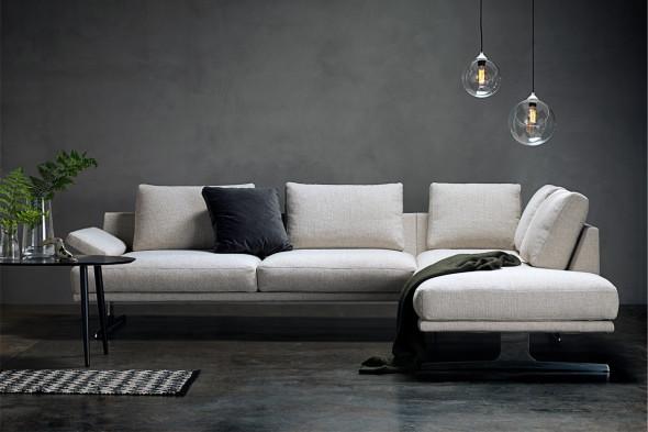 Billede af Poglia stofsofa hos BoShop - Sofaer i Århus.