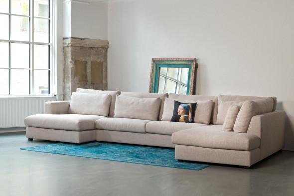 Billede af Popoline sofa med chaiselong - venstre kampagnetilbud hos BoShop - Sofaer i Aarhus og Aalborg.
