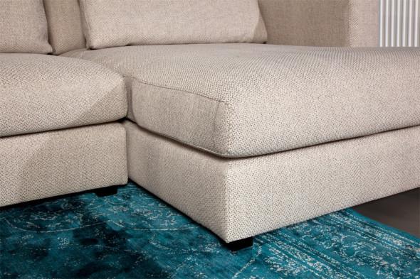 Billede af Popoline sofa med chaiselong - højre kampagnetilbud hos BoShop - Sofaer i Aarhus og Aalborg.