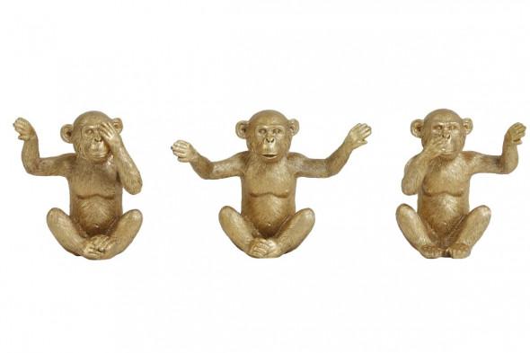 Billede af Monkey dekoration guld hos BoShop - Dekoration i Aarhus.