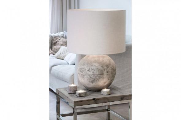 Billede af Livigno lampeskærm hvid stor hos BoShop - Lampeskærme i Aarhus og Aalborg.