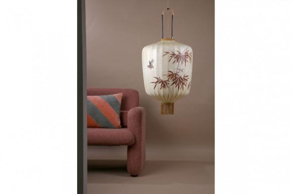 Billede af traditionel lanterne cremefarvet L hos BoShop - Lamper i Aarhus.