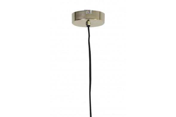 Billede af Deluka loftslampe og pendel guld hos BoShop - Lamper i Aarhus.