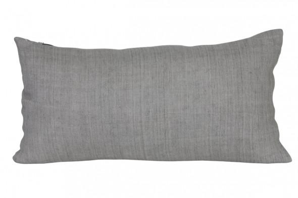Billede af Weave pude 60x30 grå hos BoShop - Puder i Aarhus.