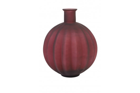 Billede af Palloci vase mørkerød hos BoShop - Vaser i Aarhus.