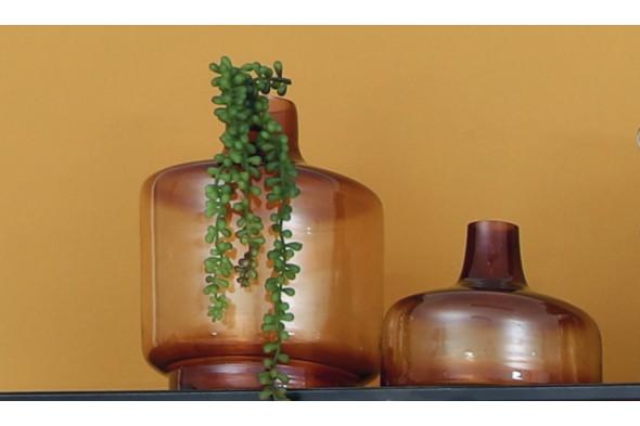 Billede af Teques vase 25x30 gul hos BoShop - Vaser i Aarhus.