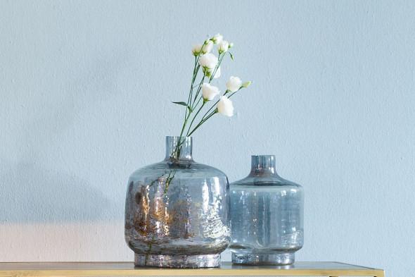 Billede af Teques vase 25x30 grå hos BoShop - Vaser i Aarhus.