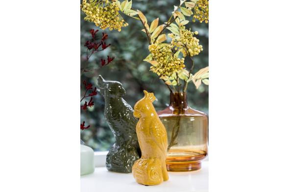 Billede af Teques vase 19x26 gul hos BoShop - Vaser i Århus.
