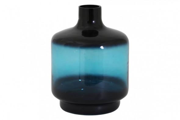 Billede af Teques vase 19x26 blå hos BoShop - Vaser i Århus.