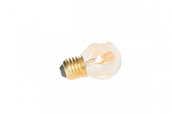 Billede af Classic Gold Mini pære på 3 watt LED.  Find de matchende lamper hos BoShop.