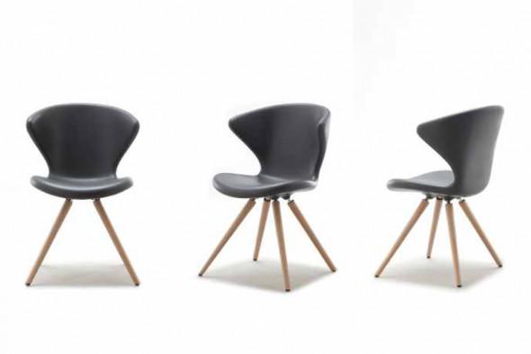 Siddehøjde spisebordsstol