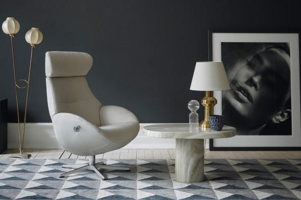 Billede af Globe lænestol hos BoShop - Lænestole i Århus.
