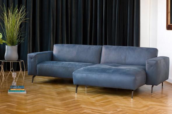 Billede af Corium Italia - Drake lædersofa - Sofa i læder hos BoShop - Sofaer i Aarhus.