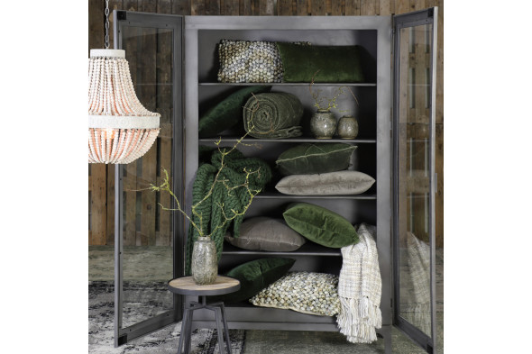 Diamond pude i olivengrøn fra BoShop Collection hos BoShop - Puder i Aarhus og Aalborg.