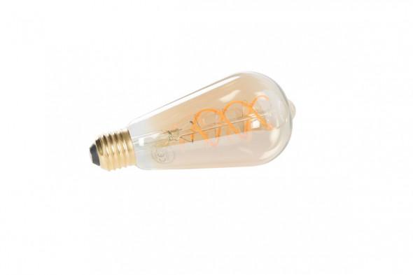 Billede af Drop Gold pære på 5 watt LED.  Find de matchende lamper hos BoShop.