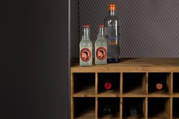 Billede af Vino vinreol og barskab hos BoShop - Vinskabe i Århus.