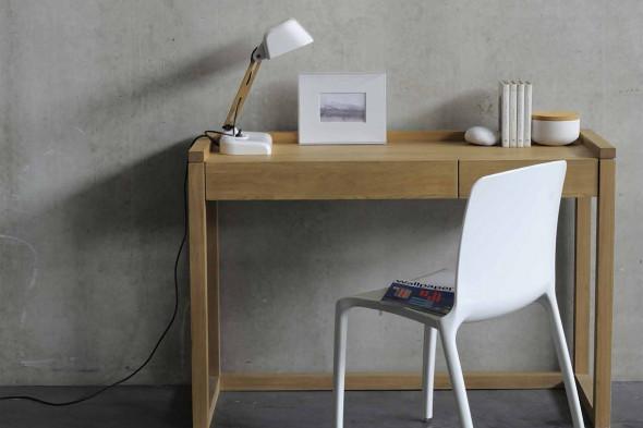 Billede af Frame PC Eg konsolbord i træ hos BoShop.