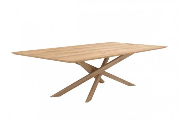 Ethnicraft   mikado eg spisebord i træ hos boshop