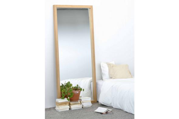 Billede af Mirror / Light Frame Eg spejl i træ hos BoShop.