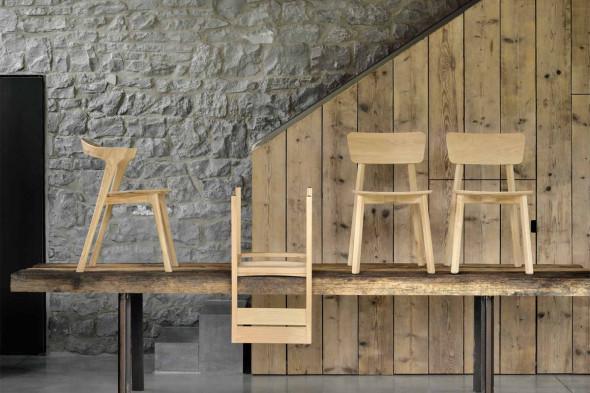Billede af Casale Eg - spisebordsstol i træ hos BoShop.