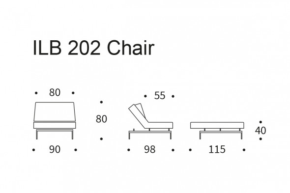 Billede af ILB 202 stol hos BoShop - Stole i Aarhus og Aalborg.