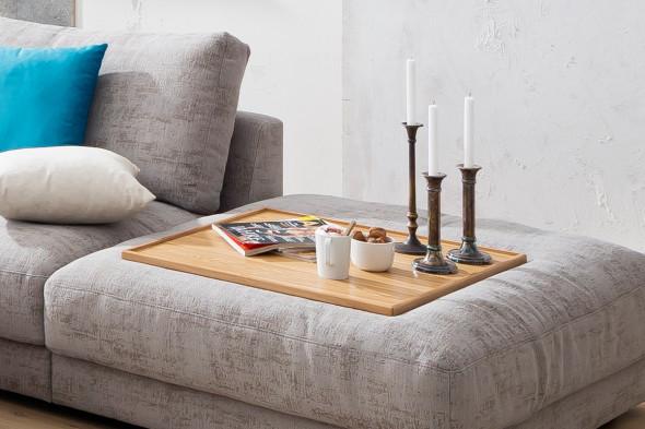 Billede af High End - Bakke til puf i eg hos BoShop - Bakker i Aarhus og Aalborg.