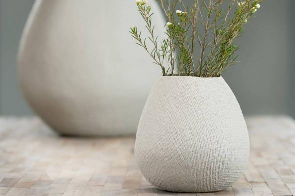 Billede af Jake vase hvid hos BoShop - Vaser i Aarhus.