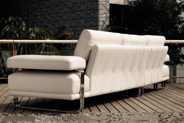 Billede af Merano lædersofa hos BoShop.