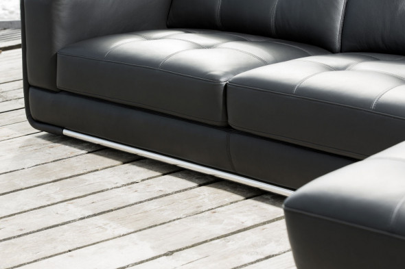 Kelvin Giormani - Latina ll lædersofa - Sofa i læder hos BoShop - Sofaer i Århus