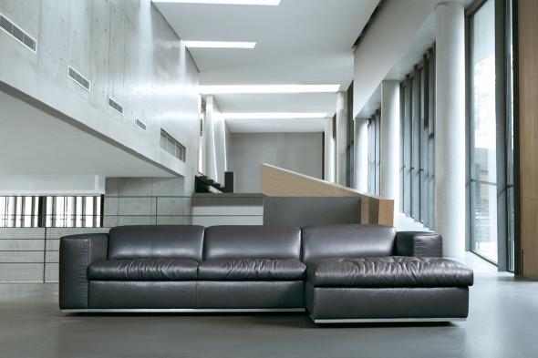 Billede af Riva l lædersofa hos BoShop - Sofaer i Aalborg.