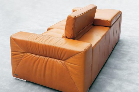 Billede af Rivoli l lædersofa hos BoShop.
