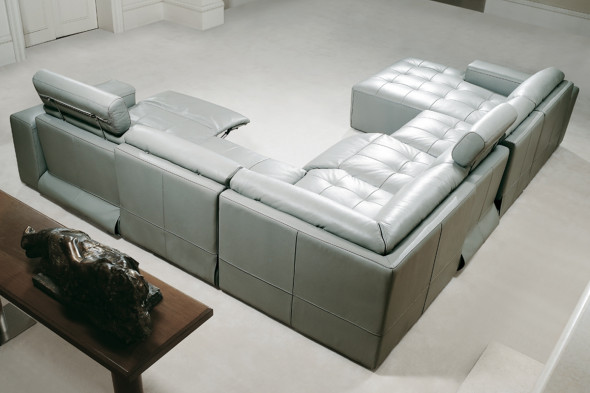 U-sofa fra Kelvin Giormani.