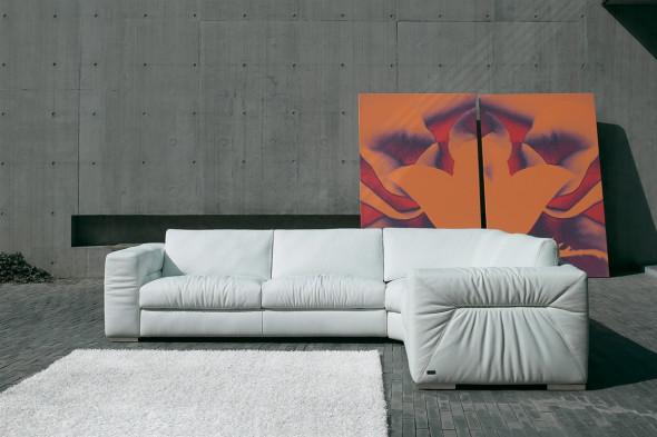 Billede af Rivoli ll lædersofa hos BoShop.