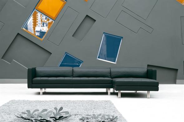 Billede af Foretti l lædersofa hos BoShop.