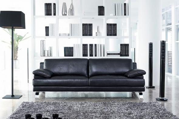 Billede af Giano lædersofa hos BoShop - Sofaer i Aarhus.