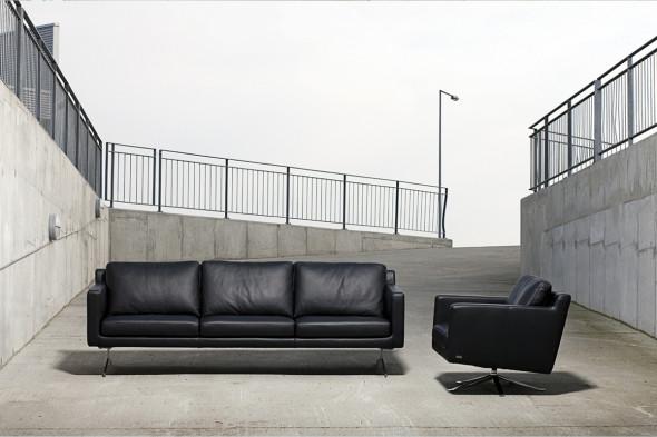Billede af Eistho lædersofa hos BoShop - Sofaer i Århus.