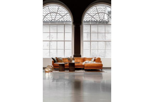 Billede af Lucano - Cognac lædersofa med Open-end - Højre hos BoShop - Lædersofaer i Aarhus og Aalborg.