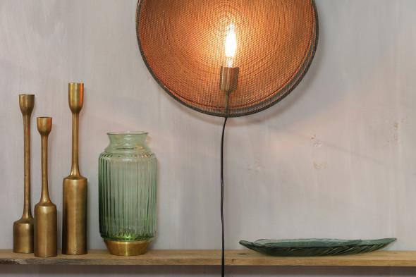 Bronze lysestage sæt med tre stager hos Boshop - Lysestager i Aarhus og Aalborg