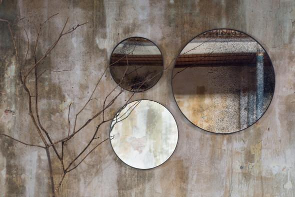 Billede af Round spejle hos BoShop - Spejle i Århus.
