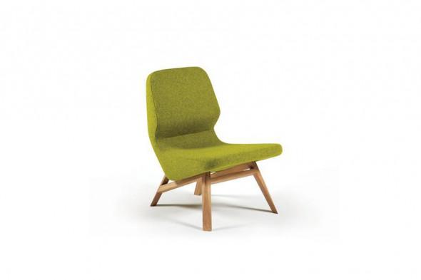 Billede af Oblique lænestol hos BoShop - Lænestole i Århus.