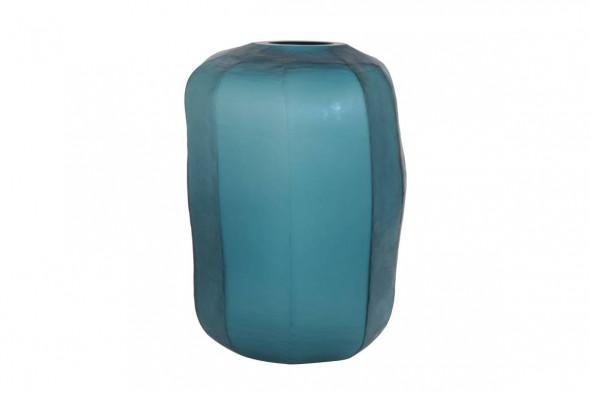 Pacengo glasvase i blå hos Boshop - Vaser i Aarhus og Aalborg